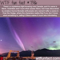 Mysterious light hovering over Canada - WTF fun facts