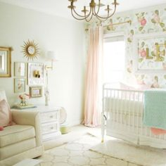 Up #ontheblog today...sharing my #favoriteroom for the #bloggerstylinhometours ...which happens to be Landry's #girly , #glam #nursery . Head over to check out what I've updated (as well as tons of other taleneted bloggers!), then simply like this post an
