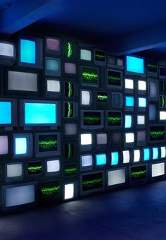 Susan Hiller, Channels, 2013 / Single most impressive new work I've seen this year. Shown at Matt's Gallery London. Video installation with sound of people recounting near death experiences.