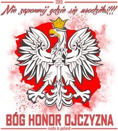 Błóg Honor i Ojczyzna Polish Eagle Tattoo, Polish Tattoos, World Country List, Polish Symbols, Poland History, Visit Poland, Stick N Poke, My True Love, My World