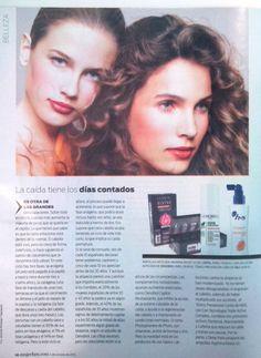 Oenobiol loción anticaída. Revista Mujer Hoy. 5 octubre 2013
