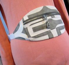 Fanny Pack/Bum Bag  Geometric design  for the Free by ClemmieVs, $16.00