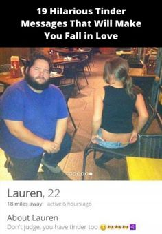 25 Tinder Fails That Prove the Internet Is Full Of Weirdos Tinder Humor, Funny Tinder Profiles, Wtf Funny, Funny Fails, Hilarious, Post Workout Protein, Love Lauren, Find A Date, Super Funny