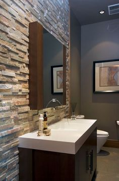 The powder room might be small but they are great places to show off your style and flare!