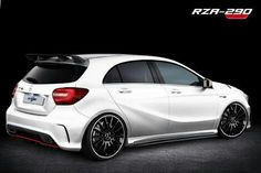 RevoZport Mercedes-Benz A 250 Tuning Package A Class Amg, Mercedes A45 Amg, Mercedes A Class, Mercedes Wallpaper, Car Tuning, Modified Cars, Toys For Boys, Luxury Cars, Cool Cars