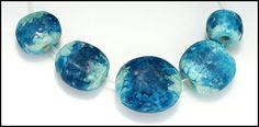 Sea Stones Carol Holaday Lampwork Beads Sets