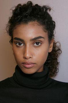 Hannah — aetsogard: imaan hammam at burberry prorsum...