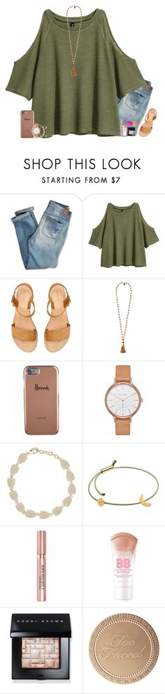 """"""""""" by carolinefcaron ❤ liked on Polyvore featuring American Eagle Outfitters, H&M, Cocobelle, Harrods, Skagen, Kendra Scott, Tadam!, L'Oréal Paris, Maybelline and Bobbi Brown Cosmetics"""