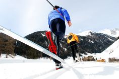 Langlaufen - die schneesicheren Gebiete Rein in Taufer, Kasern und Mühlwald, sowie Weißenbach bieten eine große Auswahl an Langlaufloipen, sodass Sie nichts aufhalten kann.