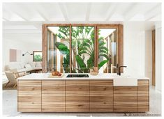 CA LA BRISA - Bataille Living Luxury Mediterranean Homes, Mediterranean Style, Luxury Homes, Casa San Sebastian, Patio Central, Villa, Exclusive Homes, Ensuite Bathrooms, Open Plan Kitchen
