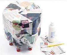 Pufe reciclado
