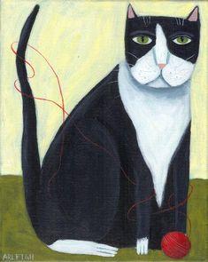 primitive cat « Spiral Forest Studio's Weblog