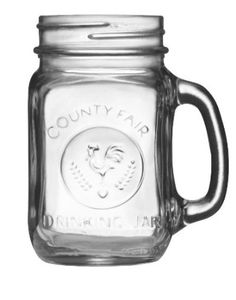12 Best smoothie cups for travel: Libbey Country Fair 16-Ounce Drinking Jar with Handle, Set of 12