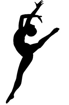 silhouette dancer (love it) <3