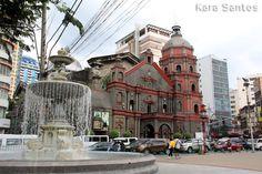 Binondo Church in Manila City, Metro Manila, Philippines. Photo by Kara Santos. Beautiful Places To Visit, Cool Places To Visit, Philippine Holidays, Manila Philippines, Tourist Spots, Travel Goals, Karate, Where To Go, Mansions