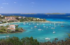 """The U.S. Virgin Islands are """"America's Caribbean Paradise"""". You can visit St. Thomas, St. John or St. Croix, or better yet, spend a little time on all three #islands! #MustVisit #BucketList #Travel"""