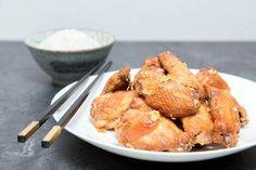 Crispy Oven Baked Garlic Chicken Wings 4  The Missing Lokness
