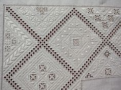 Lefkara embroidery (detail) ~ by Joke Bosman