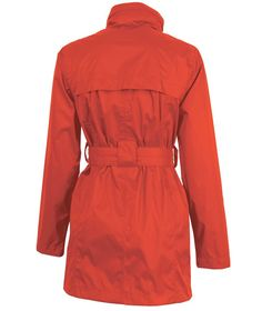 Buy the Charles River Apparel 5375 Women's Nor'easter Rain Jacket from SweatshirtStation.com, on sale now for $52.43 Poppy Rear