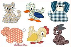 Must get these for applique on aprons!
