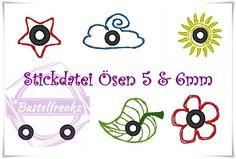 Stickdatei+♥+Ösen+♥++von+Bastelfreakz+Embroidery+auf+DaWanda.com