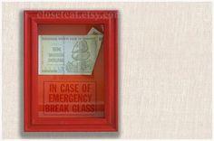 Ten Trillion Dollars Zimbabwe  In Case of Emergency  by ClosetCat