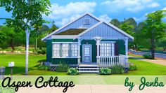 Aspen Cottage #lot #sims4
