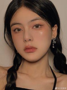 Makeup Inspo, Beauty Makeup, Eye Makeup, Hair Makeup, Asian Makeup, Korean Makeup, Ulzzang Makeup, Beautiful Girl Makeup, Uzzlang Girl