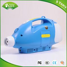 CE certifacate China factory Wireless Portable Rechargeable Battery Operated Spraying Fog Machine ULV Cold Fogger