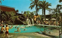 We used to take the monorail to the Polynesian at night and fake our fancy.