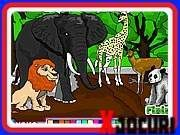 Animal park coloring is a game where you can paint animals with the color that you want. There is an elephant, a giraffe, a deer, a lion as well as a beautiful Panda. Winter Princess, Cute Princess, Coloring For Kids, Coloring Books, Play Sonic, Giraffe, Elephant, Baby Painting, Princess Coloring