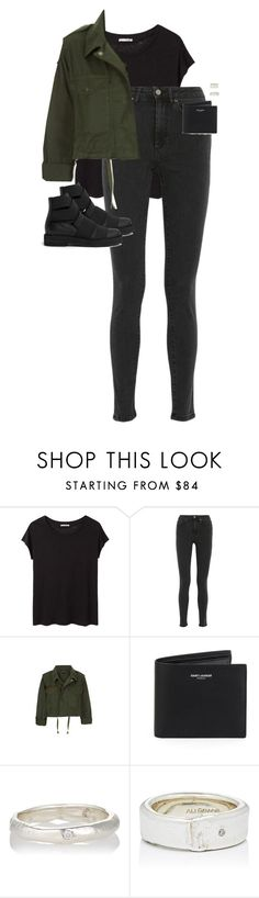 """""""Untitled #12894"""" by alexsrogers ❤ liked on Polyvore featuring Acne Studios, Topshop, Yves Saint Laurent and Ali Grace"""