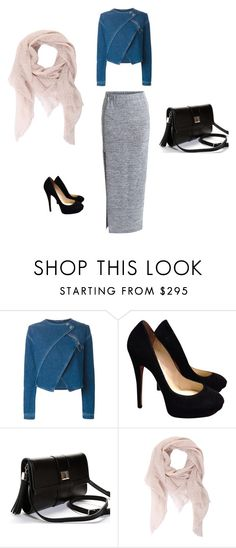 """""""Untitled #1"""" by fauzanadiah ❤ liked on Polyvore featuring Kenzo, Jimmy Choo, Faliero Sarti, VILA, women's clothing, women, female, woman, misses and juniors"""
