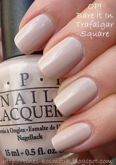 Tines Kosmetikblog: OPI Bare It In Trafalgar Square
