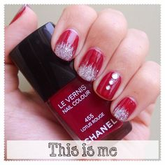 This is me » Nail polish blog: The Christmas Advent Challenge - Week #1 ~ The Perfect Red