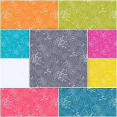 Sun Print Grow Fat Quarter Bundle