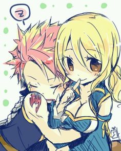Lucy and Natsu