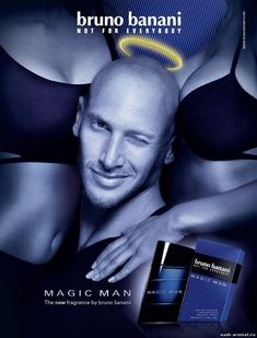 Мужская туалетная вода Magic Man от Bruno Banani #BrunoBanani #parfum #perfume #parfuminRussia #vasharomatru