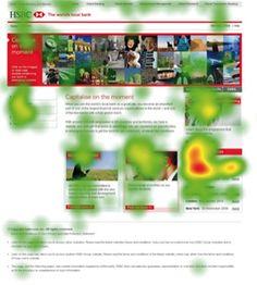 Eye Tracking Study Web Usability Print Brochure HSBC Simple Usability