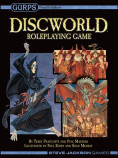 Discworld Roleplaying Game ( 2nd Edition ) – Cover