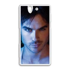 ian somerhalder vampire diaries character sony Xperia Z case cover, US $18.89