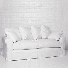 Squishy Sofa By Rachel Ashwell Shabby Chic Couture Most Comfortable Couch Comfy Couches White