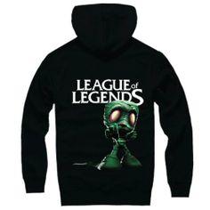 League of Legends LOL Amumu Pullover Hoodie II  http://www.lolamz.com/league-of-legends-lol-amumu-pullover-hoodie-ii-p-2305.html