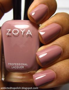 Bridgette :Addicted to Polish: Zoya Naturel Collection Swatches and Review