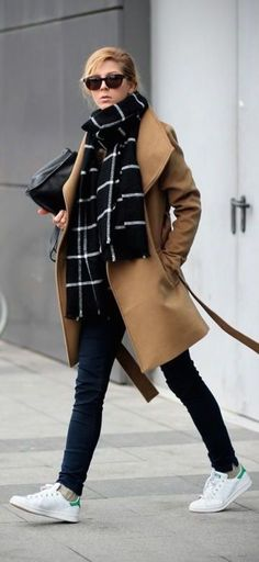 13 beautiful winter outfits with a camel coat - Page 10 of 13 - women-outfits.com