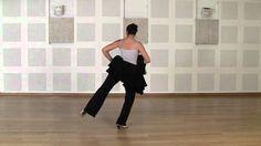 .   Técnica avanzada de bata de cola flamenca: Primer ejercicio