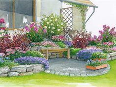 Einladende Sitzgelegenheiten am Haus - Seite 2 - Mein schöner Garten