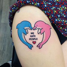 We Hate People Tattoo | Pinterest: heymercedes
