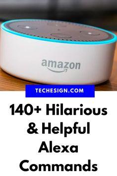Alexa Dot, Alexa Echo, Computer Basics, Computer Help, Funny Alexa Commands, Alexa Tricks, Amazon Echo Tips, Amazon Alexa Skills, Smartphone Hacks