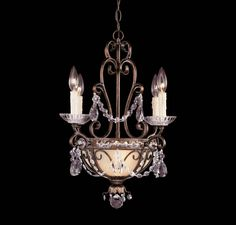 6 Light Mini Chandelier :: Boutique - Mini Chandeliers :: Products :: Savoy House Lighting